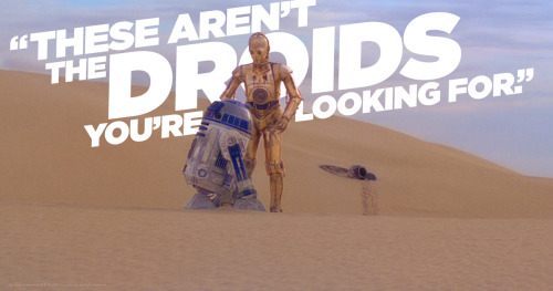 These arnt the droids2